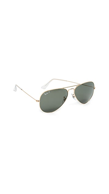 Ray-Ban RB3025 Original Aviator Polarized Sunglasses
