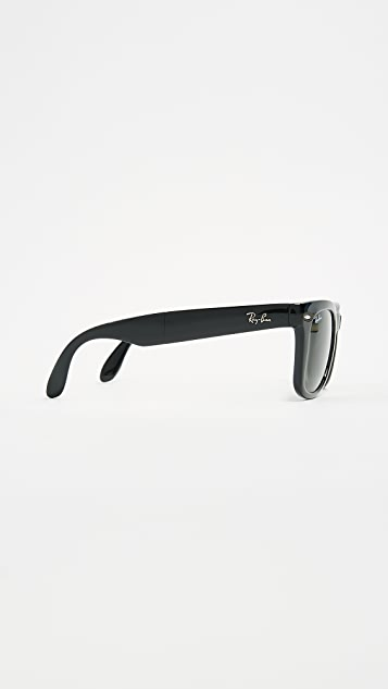 92b5d53cebe ... Ray-Ban RB4105 Folding Wayfarer Sunglasses ...