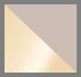 Gold/Smoke Rose Mirror