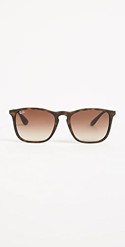Ray-Ban - RB4187 Chris Square Sunglasses