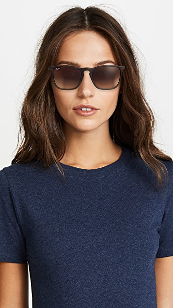 Ray-Ban RB4187 Chris Square Sunglasses