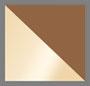 Matte Gold/Gradient Brown
