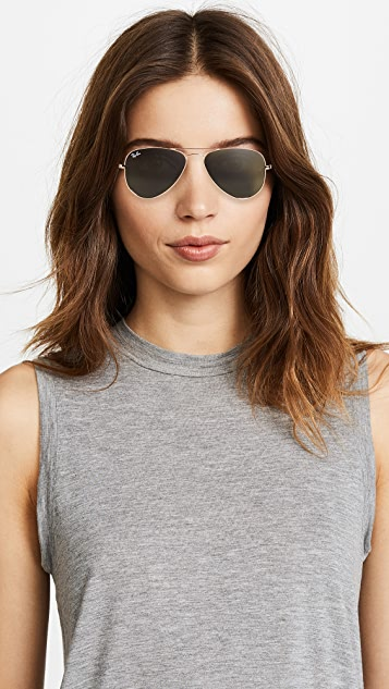 small ray ban aviator sunglasses
