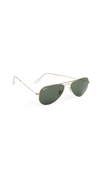 Ray-Ban RB3044 Classic Aviator Sunglasses
