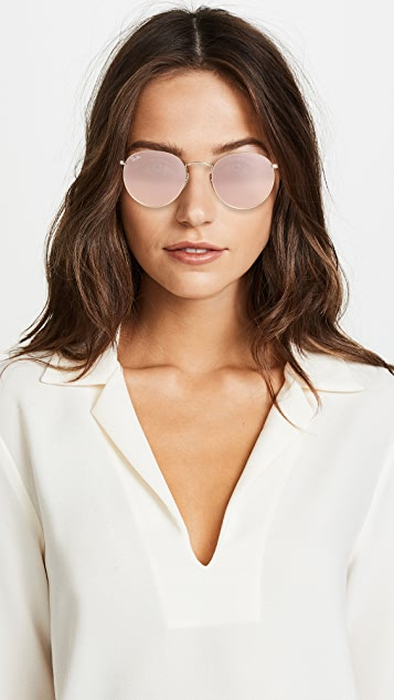 Ray-Ban Icons Mirrored Sunglasses
