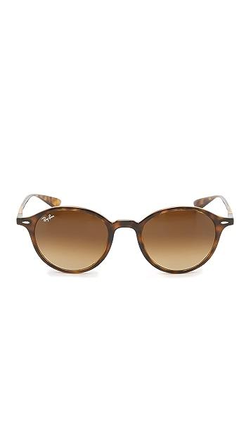 Ray-Ban Tech Light Force Round Sunglasses