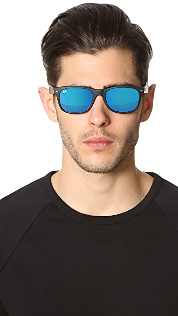 Ray-Ban New Wayfarer with Flash Sunglasses