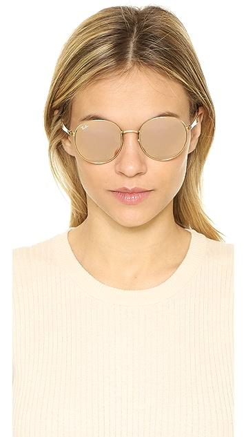 ... Ray-Ban Highstreet Round Sunglasses ...
