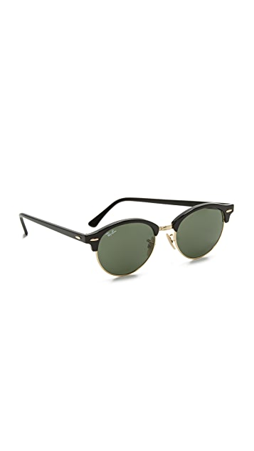 Ray-Ban RB4246 Clubmaster Round  Sunglasses