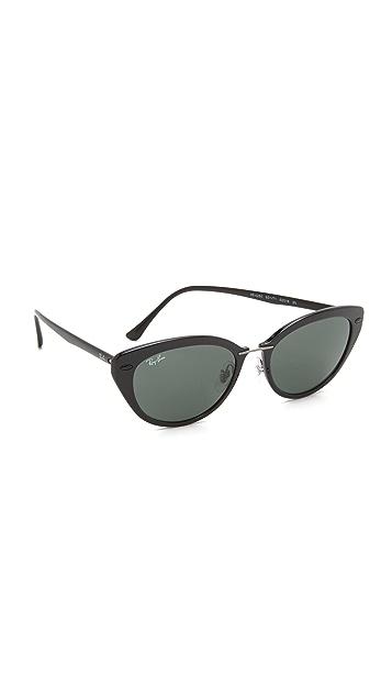 Ray-Ban Солнцезащитные очки «кошачий глаз» Light Ray   SHOPBOP 014f9e11df0