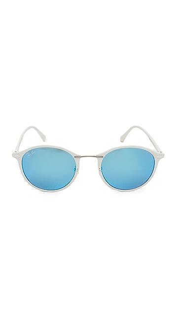 Ray-Ban Mirrored Round Sunglasses