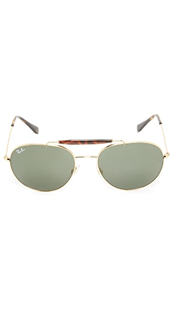 Ray-Ban Double Bridge Aviators
