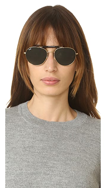 Ray-Ban Highstreet Aviator Sunglasses