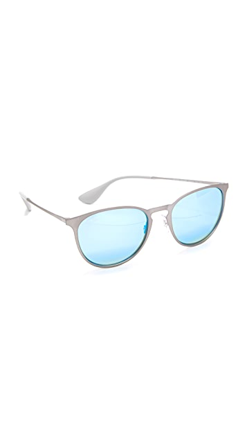Ray-Ban Round Rubber Sunglasses