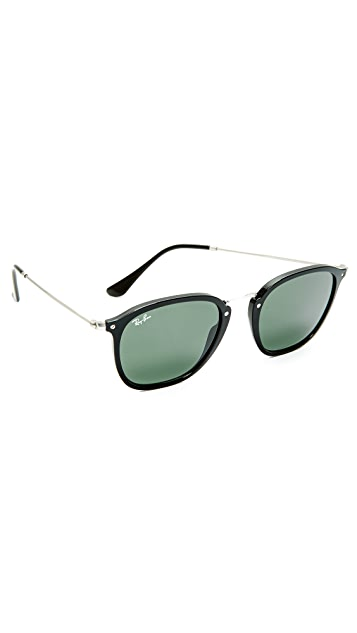 Ray-Ban Metal Bridge Round Sunglasses