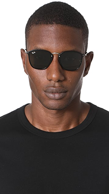 Ray-Ban Metal Bridge Round Sunglasses