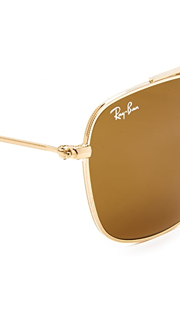 Ray-Ban Rounded Caravan Sunglasses