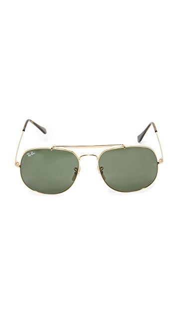 Ray-Ban The General Aviator Sunglasses
