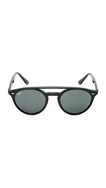 Ray-Ban Round Brow Bar Sunglasses