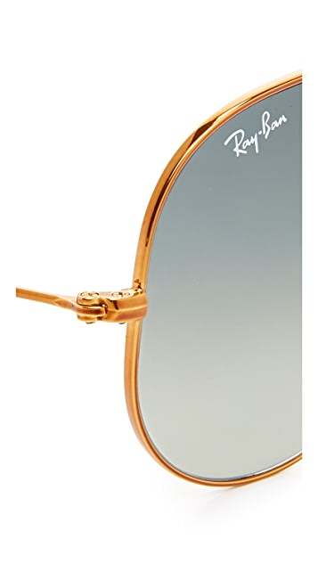 ... Ray Ban Top Bar Aviator Sunglasses