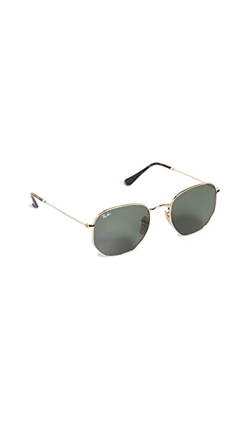 Ray-Ban RB3548N 六角形太阳镜