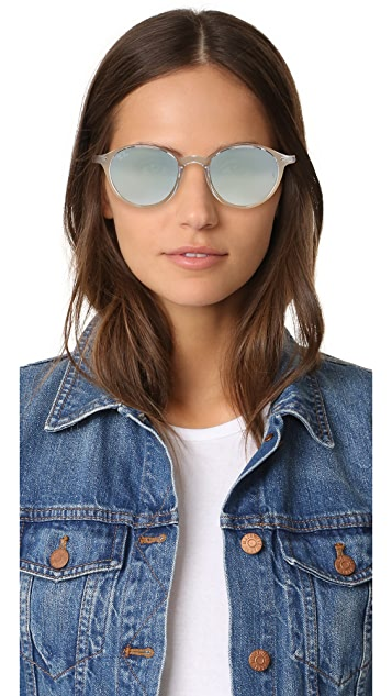 Ray-Ban Tech Liteforce Round Flash Sunglasses