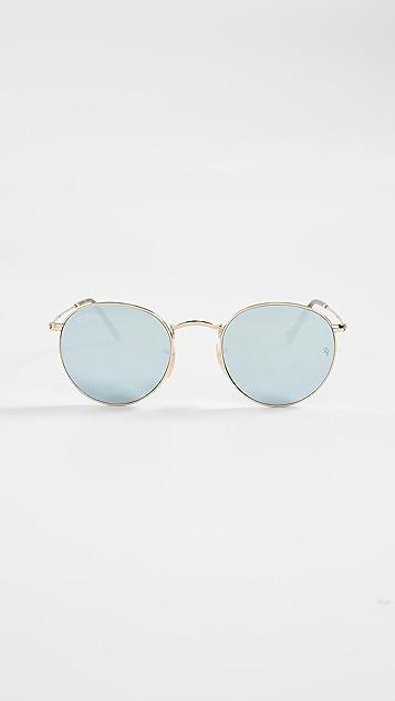 Ray-Ban RB3447N Phantos Round Sunglasses