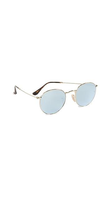 Ray-Ban RB3447N Круглые солнцезащитные очки Phantos