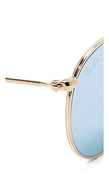 Ray-Ban Phantos Round Sunglasses