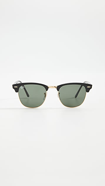 Ray-Ban RB3016 Classic Clubmaster 无框太阳镜
