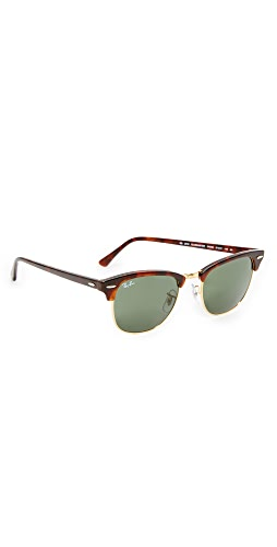 Ray-Ban - RB3016 Classic Clubmaster  Rimless Sunglasses