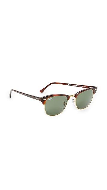 Ray-Ban RB3016 Классические солнцезащитные очки без оправы Clubmaster