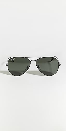 Ray-Ban - RB3025 Oversized Classic Aviator Polarized Sunglasses