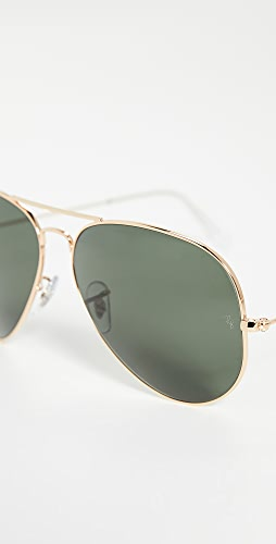 Ray-Ban - RB3025 Oversized Classic Aviator Sunglasses