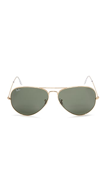 Ray-Ban Oversized Aviator Sunglasses