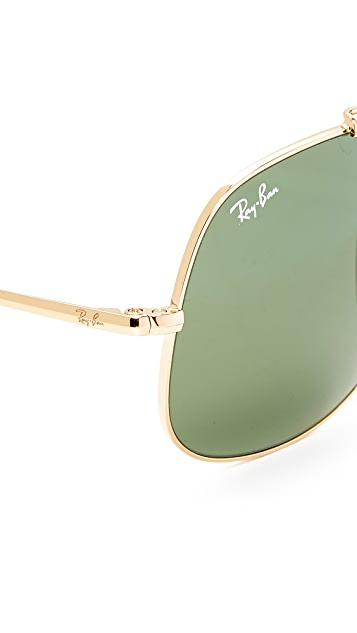 Ray-Ban The General Square Aviator Sunglasses