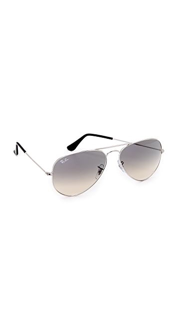 Ray-Ban RB3025 Classic Aviator Gradient Sunglasses