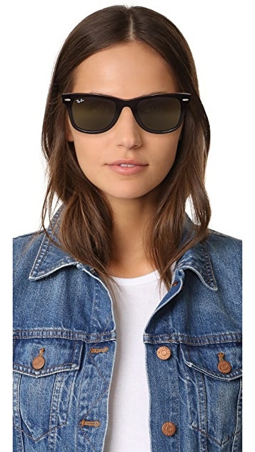 Ray-Ban Wayfarer Straight Sunglasses