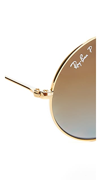 Ray-Ban Polarized Round Sunglasses