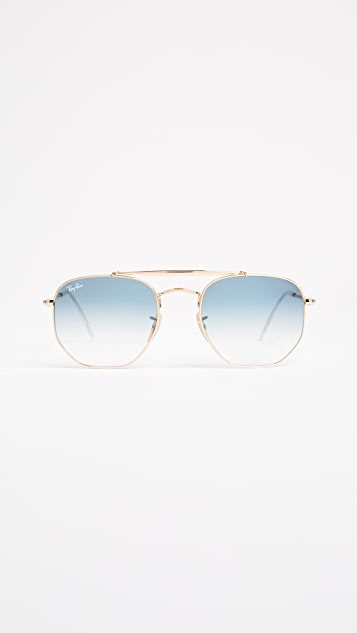 Ray-Ban Marshall Aviator Sunglasses