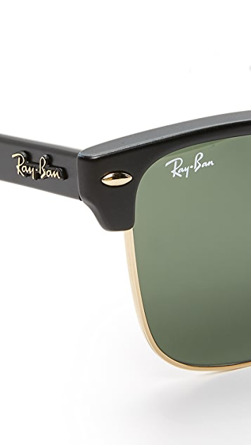 Ray-Ban Clubmaster Oversized Sunglasses