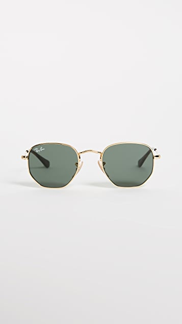 Ray-Ban Child's Hexagonal Sunglasses