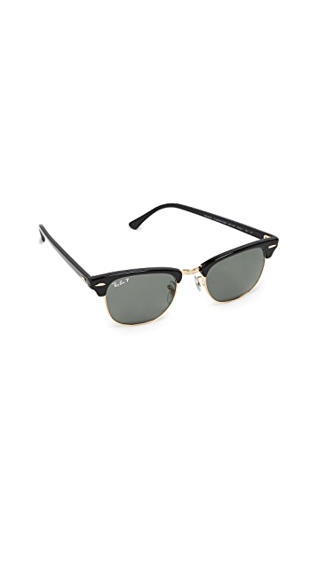 Ray-Ban RB3016 Clubmaster Polarized Sunglasses