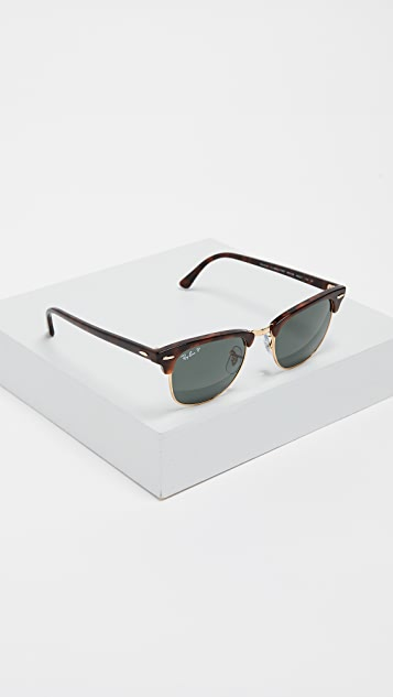 Ray-Ban Polarized Clubmaster Sunglasses