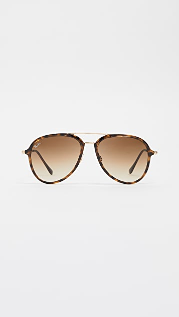 Ray-Ban RB4298 Aviator Gradient Sunglasses
