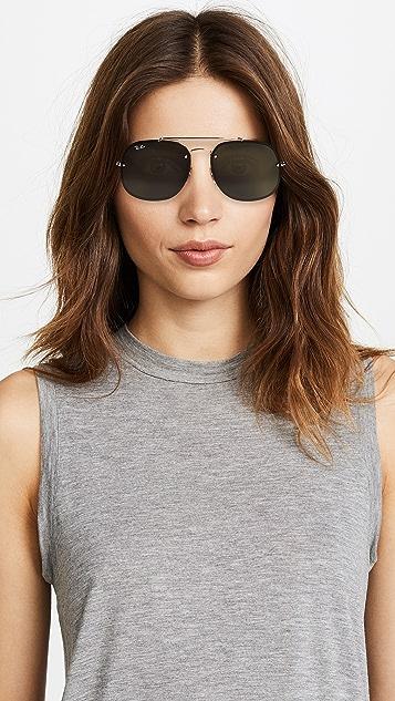 Ray-Ban Square Aviator Sunglasses