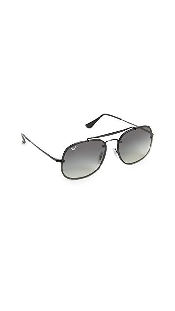 Ray-Ban Square Aviator Sunglasses