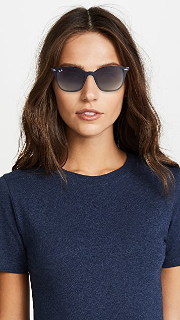 Ray-Ban Polarized Square Sunglasses