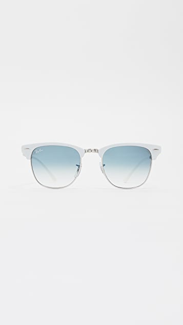 Rb3716 Clubmaster Rimless Gradient Sunglasses by Ray Ban