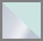 Silver/Blue Gradient Mirror